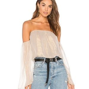 Bailey 44 Out Take Blouse Off Shoulder Top NWT